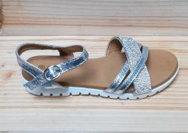 Sandale A777 albe