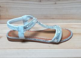 Sandale JF 03 albe